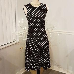Lauren Ralph Lauren polka-dot dress,  Med